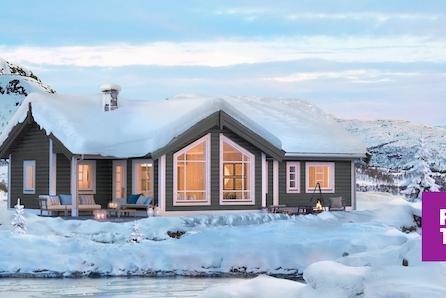 Nøkkelferdig familiehytte på Nordseter i Lillehammerfjellet. Stor, solrik selveiertomt. Skiløype gjennom feltet!