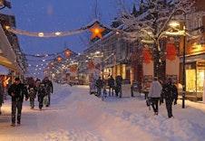 Fra Messenlivegen er det gangavstand til Lillehammer sentrum med Norges kanskje hyggeligste gågate!