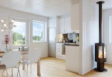 3D-Illustrasjon interiør / kjøkken