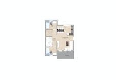 Plantegning hus 2, leilighet 2 hovedplan
