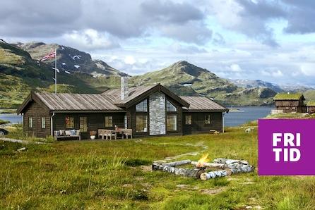 SJUSJØEN - Birkebeinerbakken Panorama. Nøkkelferdig og byggeklar prosjektert hytte med 5 soverom nær skiløypene!