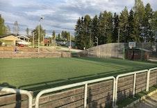 Ballbingen på idrettsanlegget