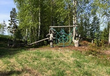 Lekeområde på feltet