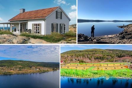 Svingen Vest hytteområde - flotte sol rike hyttetomter i lite hyttefelt med fantastisk utsikt over Storsjøen