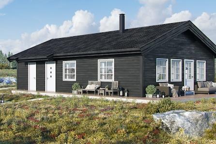 Praktisk hytte med fantastisk beliggenhet rett ved Storsjøen. TOMTEVISNING 10.OKTOBER!