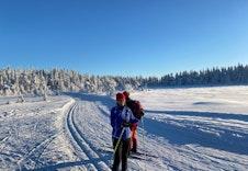Trondsbumarka byr på nydelig skiterreng