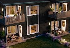 Illustrasjonsbilde av balkong og platting