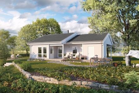 Lugo - smart og romslig bolig på ett plan i Røesgrenda