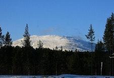 Utsikt mot sør og Tronfjell