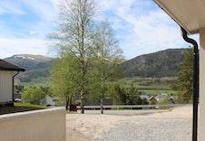 Utsikt fra inngangsdør