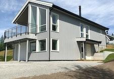 Fasade med veranda