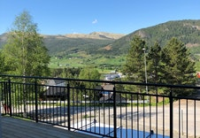 Nydelig utsikt fra verandaen
