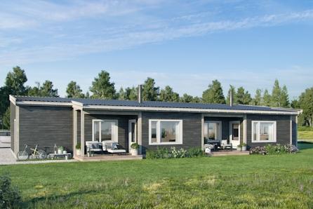 Ny leilighet med to soverom på solrik og sentrumsnær tomt på Sole!