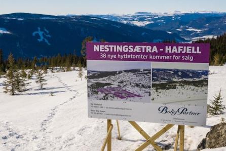 HAFJELL - Nestingsætra TRINN 3. Solrike utsiktstomter med ski in / ski out !! 2 solgt, kun 3 tomter igjen.