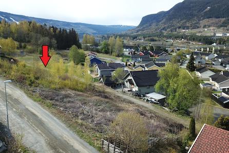 Øyer - Solrik tomt med flott utsikt i rolige omgivelser