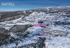 Dronefoto med oversikt salgstrinn.