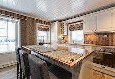 Kjøkken i kundetilpasset variant av Utsikten