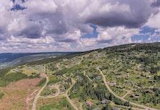 Fra tomteområdet mot nord Foto:Joakim Mangen