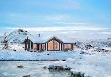 BUKKESPRANGET, en av mange hyttemodeller fra Boligpartner som kan bygges i Espedalen Fjellgrend