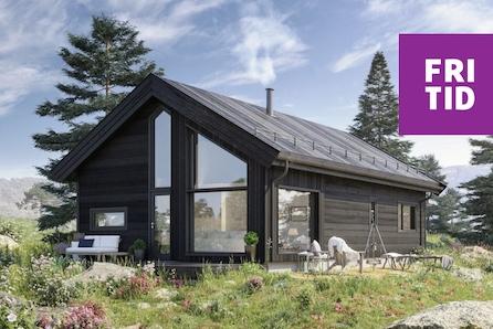 SKEIKAMPEN - Slåseterlia Fjellgrend. Sportshytte for hele familien med 84 m2 gulvareal rett ved skiløypene!