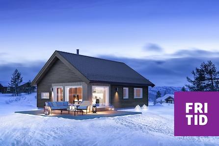 SKEIKAMPEN-Blekastad hyttefelt. Koselig og praktisk hytte med 3 soverom. Fantastisk utsikt mot Skeikampen!