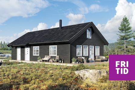 SKEIKAMPEN - Slåseterlia Fjellgrend. Ro 1 med hems og mange sengeplasser. Nær skiløypa og gode solforhold.