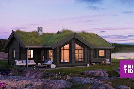 SKEIKAMPEN-Slåseterlia Fjellgrend. Praktisk hytte med 3 sov, stor kjøkken/stueavd. og stor hems. Solrik tomt 1530m2!