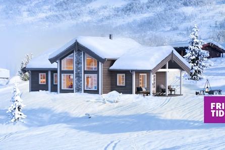 SKEIKAMPEN - Slåseterlia Fjellgrend. Nøkkelferdig hytte med 4 soverom og loftstue. Stor solrik selveiertomt på 1344m2 !