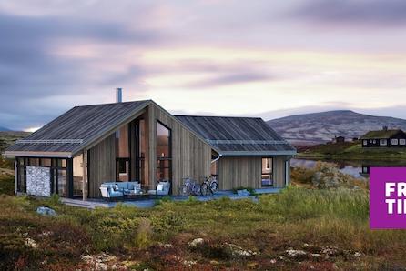 SKEIKAMPEN - Innholdsrik hytte m/hems, stue/kj. 44 m2. Gode langrenn- alpin og helårlige turopplevelser. Utleiemulighet!