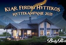 Signer kontrakt på hytte med BoligPartner innen 15. desember og få med Elbillader og komplett Smarthuspakke!