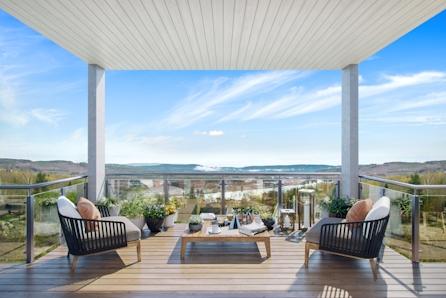 KONGSVINGER-Ny funkis/moderne enebolig med panoramautsikt nære marka i Bogeråsen.