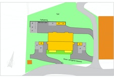 Gode parkeringsmoglegheiter rett ved siden av inngangen til kvar leilegheit. Kan byggje carport om du ynskjer.
