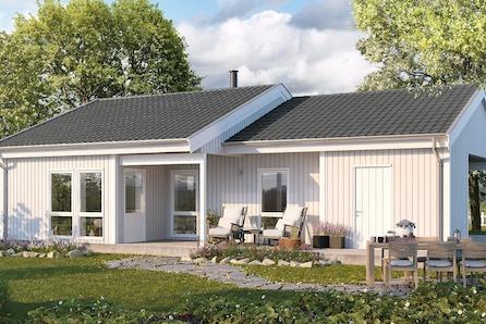 Sveio- 3 prosjekterte boliger. Fantastisk utsikt! Båtfeste følger med.