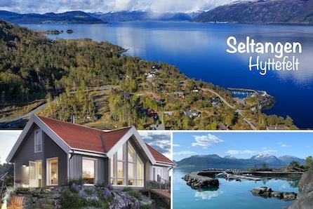 Hyttedrømmen i naturskjønne omgivelser ved Hardangerfjorden - kan bli din! PANORAMA fjord- og fjellutsikt!
