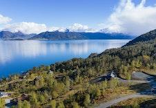 Områdebilde, utsikt mot fjord og fjell