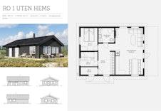 RO- plantegning og fasader