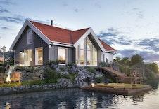 NYSETRA-en hytte som passer godt til de fleste tomtene.
