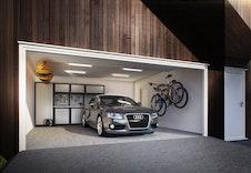 Sandvika-Integrert dobbel garasje