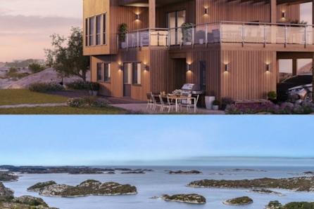Husdrømmen på Angeltveit - kan bli din! Fantastisk sjøutsikt, solrikt  og mulighet for båtplass