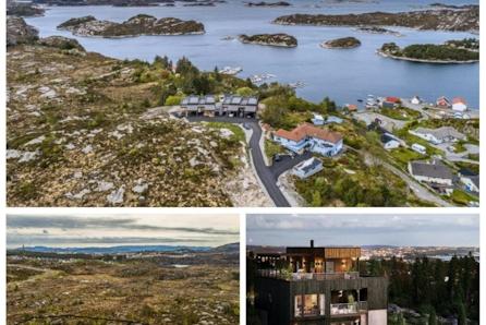 Angeltveitsjøen - To tomter med fantastisk sjøutsikt, solrikt  og mulighet for båtplass