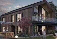 Forslag til hus som passer på tomten
