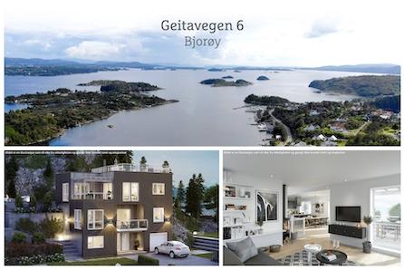 BJORØY- Boligtomt med fantastisk utsikt over fjorden og innseilingen til Bergen!