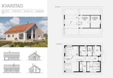 Kvarstad hytte, forslag til hytte
