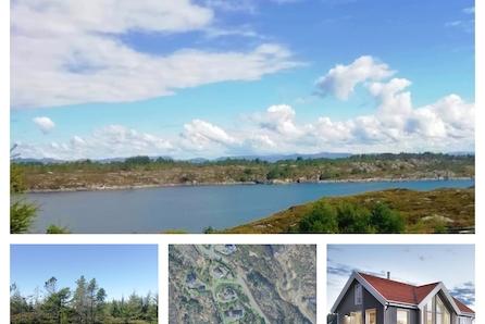 ÅRÅSVÅGTOPPEN- 2 solrike tomter med sjøutsikt til salgs! Ny nøkkelferdig i hytte i år? Vi har byggekapasitet!
