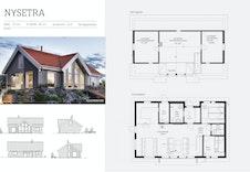 Nysetra hytte, forslag til hytte