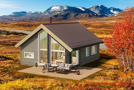 ÅRÅSVÅGTOPPEN- hytte i vakre omgivelser og kort vei til sjø