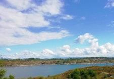 Bilde fra nærområdet, umiddelbar nærhet til sjø