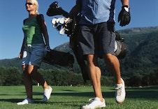 Golfbana ligger på Stokkenes rett ved Eid sentrum. En av dei bedre 9 hols banene!!