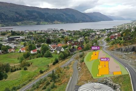 Sentrumsnære leilegheiter i roleg område med fantastisk utsikt !
