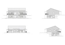 Kviehogane Bygg 1 3 Fasader